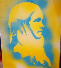 Original Contemporary Spray Paint Game of Thrones  Daenerys portrait, Dragons