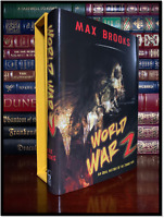 World War Z ✎SIGNED✎ by MAX BROOKS New Cemetery Dance Limited Slipcased Hardback