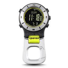 SPOVAN Smart Watch Altimeter Barometer Compass LED Clip Watch Sports F2Q7