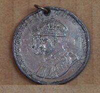 King George VI & Queen Elizabeth Coronation Medal 1937 3.5 cms