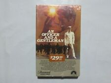 Betamax Tape Movie New Sealed An Officer And a Gentleman VERY RARE 6E