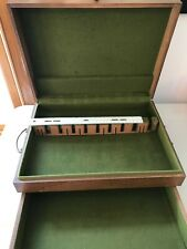 New listing Wood Flatware Box With Drawer
