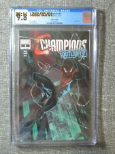 Champions #1 CGC 9.8 (Marvel 2020) Walmart Edition Petrovich Miles Morales Cover