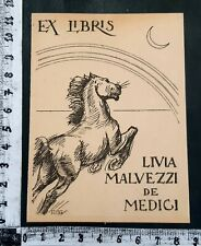 "WUNDERKAMMER EXLIBRIS 31 "" MALVEZZI DE MEDICI "" - * PIETRO PIETRA * - C !"