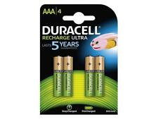 4 x Duracell Micro AAA Akku 850 mAh HR03 Ultra Rechargeable NiMH Battery