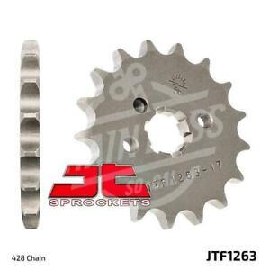 JT Sprockets 428 Front Sprocket Steel 15 Teeth Natural JTF1263.15
