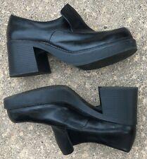 Vintage 1970s Disco Platform Soles & Heels Womens Size 12 (Mens Size 9)