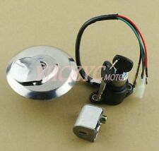 Ignition Switch Fuel Gas Cap Steering Lock Key Set for Honda Custom CM125 87-99