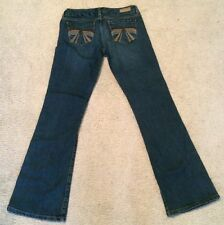 Seven 7 Bootcut Stretch Size 30 Embroidered Women Ladies New NWOT