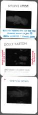 RARE DOLLY PARTON UNSEEN CANDID PHOTO SLIDES 1980'S ESTATE LOT PT