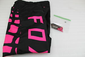 FOX RACING 2017 WOMENS SWITCH PANTS / BLACK & PINK & BLUE #17193-001-8