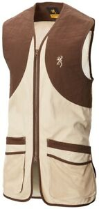 Browning Classic Beige Clay Shooting Vest -30518634