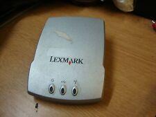 LEXMARK n4050e 4032-2w1 802.11b, 802.11g Wireless Print Server wa41 zee314