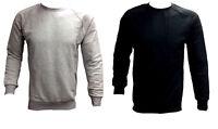 Mens Designer Club Star Zip Basic CrewNeck Pullover Sweatshirt Sweater Jumper