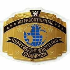 WWF/wwe World Heavyweight INTERCONTINENTAL Championship replica belt adult size