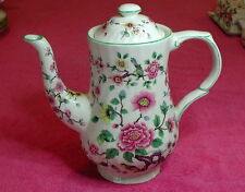 """James Kent Old Foley (Chinese Rose) 7 5/8"""" FOUR CUP COFFEE POT Exc"""