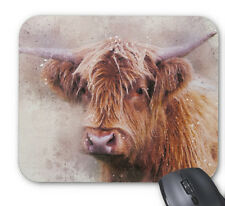 Highland Cow High Quality / Comfort 5mm Thick Non Slip Soft Rubber Mouse Mat