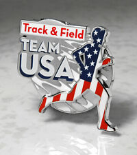 OLYMPIC Pin Pins BADGE 2020 Tokyo TEAM USA TRACK FIELD USOC J