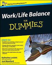 Work-Life Balance For Dummies-ExLibrary