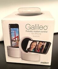 Motrr Galileo Robotic Bluetooth Motion Control for iPhone 5 ipod - White NIB