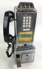 Vtg. Automatic Electronic Co. Chrome Pay Phone Lot 2187