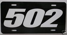 502 ENGINE SIZE LICENSE PLATE FITS CHEVELLE NOVA CAMARO
