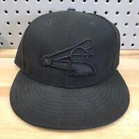 Chicago White Sox MLB Baseball New Era 59FIFTY Fitted Hat Sz 7-5/8 70's Era Logo