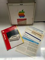 Vtg 1984 Apple II Imagewriter Printer Accessory Kit Manuals Papers Original Box