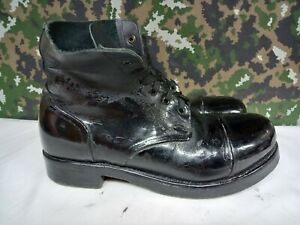 British Army Military Surplus Drill Ammo Parade Dress Combat Tapped Boots - 10 M