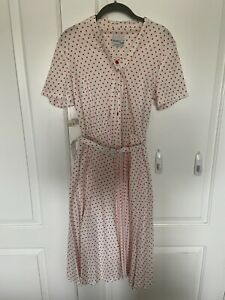 Vintage Better Half Secretary Dress Size 14.5 Medium/Large Union Made Rockab