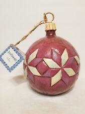 "Jim Shore Bethlehem Lights Large Bulb Ornament 8 1/2"" Tall 19.5 Circumference"