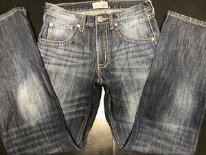 Wrangler 20X Men's Vintage Bootcut Blue Jeans 29x32