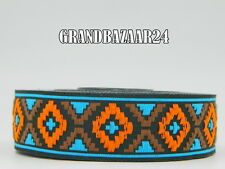 10m Borte Gewebt/Webband   Aztek/Retro/Tribal  25mm Breit (0,89€/m)