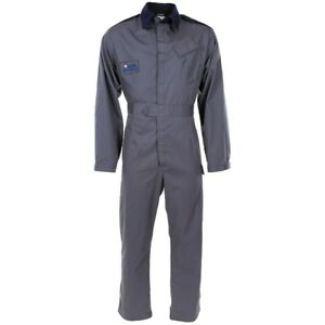 RAF Mechanic Overalls Used Coverall ROYAL AIR FORCE Grey Blue Military