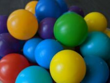 132 Plastic Ball Pit Balls, Various colors