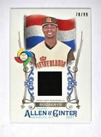 2017 Allen and Ginter World Baseball Classic Relics Xander Bogaerts Jersey /99