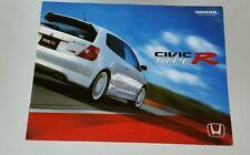 2003 Honda Civic Type R Catalog Brochure
