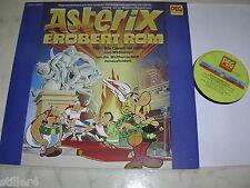 Asterix Erobert Rome Part 1 Original Peg 70s Label Vinyl LP RAR