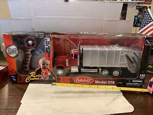 NEWRAY PETERBUILT MODEL 379  NEW Ray Garbage Recycling TRUCK RADIO CONTROLED R/C