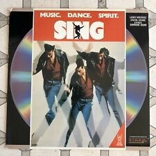 Sing - LaserDisc