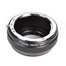 FOTGA Adapter for Nikon AI lens to Micro 4/3 M4/3 G5 GF9 GH2 E-P5 E-5 E-PL9 OM-D