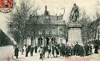Carte PARIS Place Voltaire et Monument Ledru Rollin Animé dont gendarmes