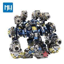 MU 3D Metal Nano Puzzle Starcraf Thor Armor Model Kits DIY 3D Laser Cut Toy
