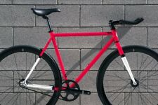 State Bicycle co Montoya 62 cm Red/Black/White Fixed Gear