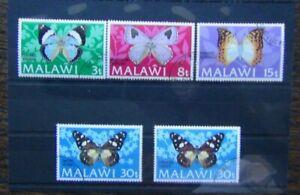 Malawi 1973 Butterflies set Used