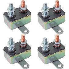 4-PACK AUTOMOTIVE 30 AMP AUTO-RESET CIRCUIT BREAKER SWITCH 30A ELECTRIC FAN BULK