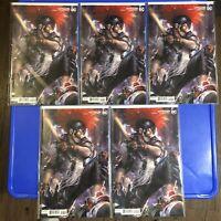 5 Copies! Batman #99 Mattina Variant Cover DC Comics 2020 Punchline Clown Hunter