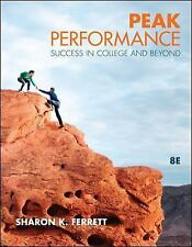 Peak Performance : Success in College and Beyond by Sharon K. Ferrett (2011, Pap