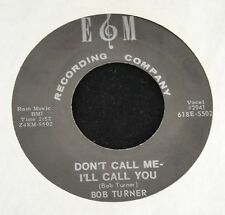 HEAR IT OBSCURE COUNTRY BOPPER Bob Turner EM Recording Company 5502