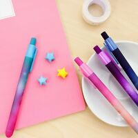 1PC Beautiful  Pro Starry Sky Pattern Color Gel Pen For School Office Writing~